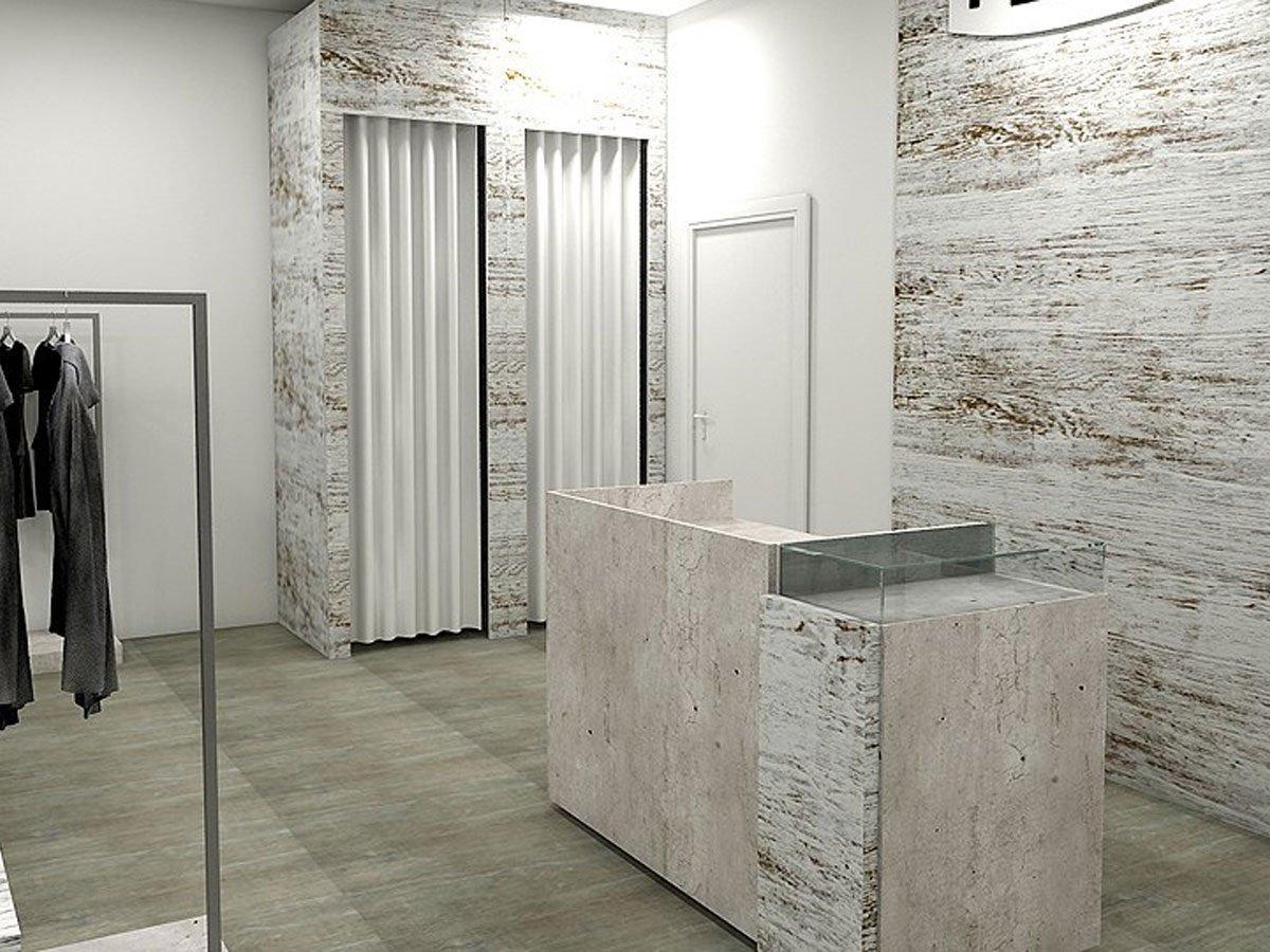 LIMES - VINTAGE - Cemento -Metallo Vernice Trasparente