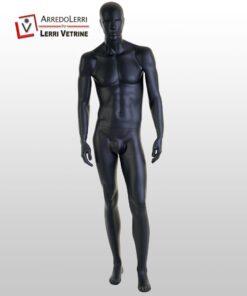 Manichino Uomo Stilizzato Nero Pos. 1