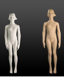 Manichini Bambina Stilizzati 14-16 Anni bianco/carne